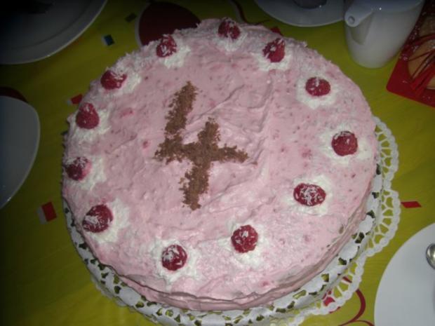 Himbeer-Mascarpone-Torte mit Wiener-Boden / Bisquit-Boden - Rezept - Bild Nr. 2