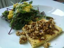 Scharfer Mangosalat mit Halloumi - Rezept