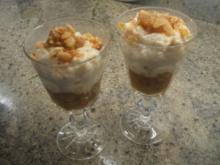 Dessert: Flammeri mit Rhabarber - Rezept