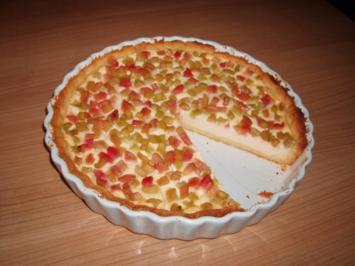 Rhabarber-Quark-Kuchen - Rezept