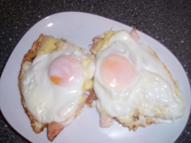 Hähnchenkasseler in einem Käse-Ei Schlafrock, dazu Käseplatte - Rezept - Bild Nr. 5