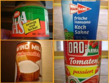 Suppe mit Erdnusscreme - Rezept