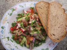 Salate: Fränkischer Brotzeit-Salat - Rezept