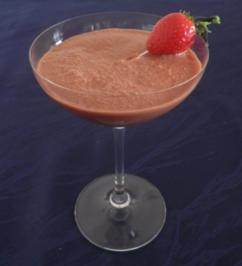 Chiliger Schokoladen - Erdbeer - Cocktail ... - Rezept