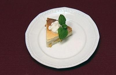 Käse-Pfirsich-Dessert (Hagen Stoll) - Rezept