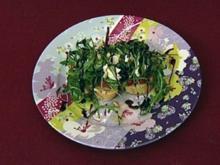 Jimis Appetizer - Bruschetta mit Tomate und Mozzarella (Jimi Blue Ochsenknecht) - Rezept