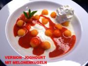Probiotischer-Fruchtiger-Leichter-Joghourt-Dessert - Rezept