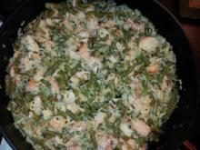 Lachs-Gemüse-Pfanne - Rezept