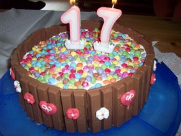 Kit-Kat Schoko-Torte - Rezept