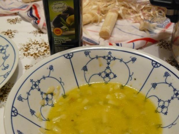 Spargelsalat mit Zitronen-Olivenöl-Dressing - Rezept - Bild Nr. 5
