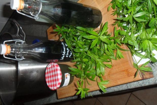 waldmeister-sirup, gelee, bowle, bier--echt lecker!! - Rezept - Bild Nr. 3
