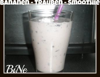 BiNe` S BANANEN - TRAUBEN - SMOOTHIE - Rezept