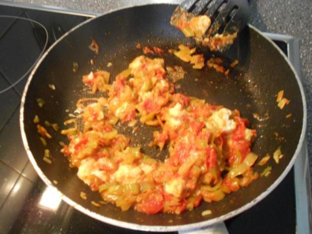 menemen türkische Eierspeise (vegetarisch) - Rezept - Bild Nr. 7