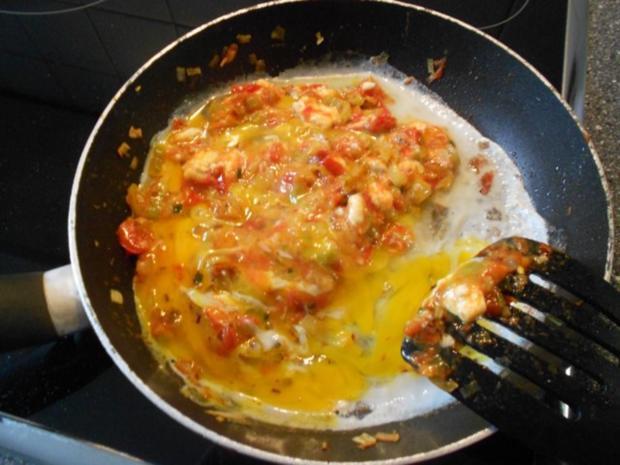 menemen türkische Eierspeise (vegetarisch) - Rezept - Bild Nr. 8