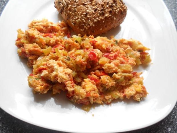 menemen türkische Eierspeise (vegetarisch) - Rezept - Bild Nr. 10