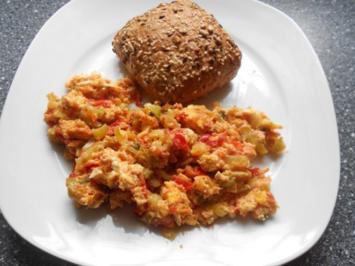 Rezept: menemen türkische Eierspeise (vegetarisch)