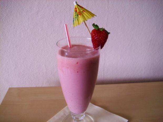 Erdbeer - Shake - Rezept