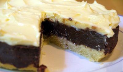 Pumpernickel-Schokoladen-Kuchen - Rezept