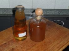 holunderblütengelee und gebackene blüten und sirup - Rezept