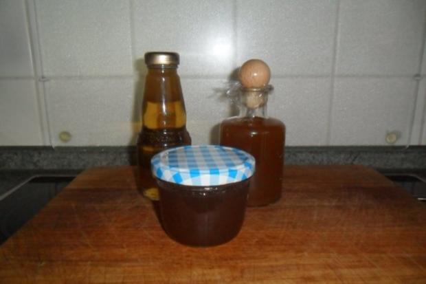 holunderblütengelee und gebackene blüten und sirup - Rezept - Bild Nr. 2