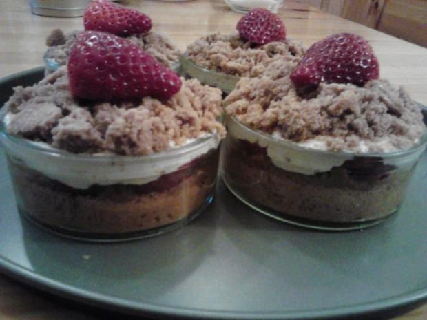 Maulwurfkuchen - Herzkuchen - Muttertagskuchen - Bananenkuchen - Rezept - Bild Nr. 2