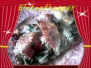 Stielmus - Spargel - Mettwürstchen - Kochschinken Pizza a`la Jörg - Rezept