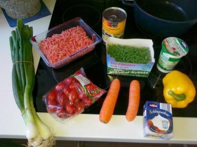 Leichte Gemüse-Bolognese - Rezept