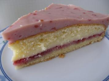 Himbeer-Pudding-Torte - Rezept