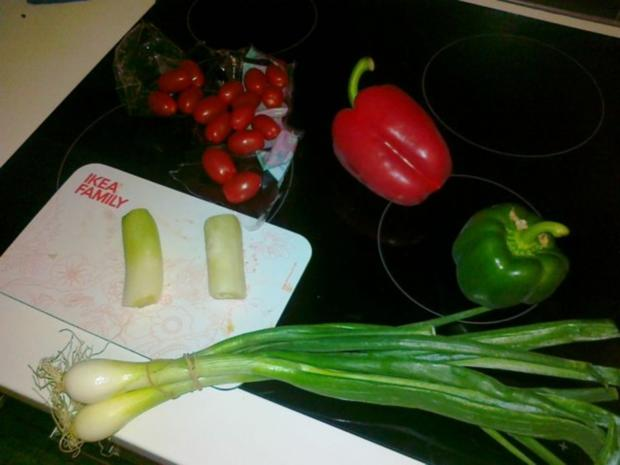 Gemüse-Nudel – Fleisch Pfanne aus dem Ofen - Rezept - Bild Nr. 7