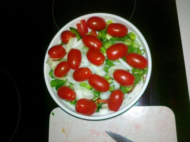 Gemüse-Nudel – Fleisch Pfanne aus dem Ofen - Rezept - Bild Nr. 11