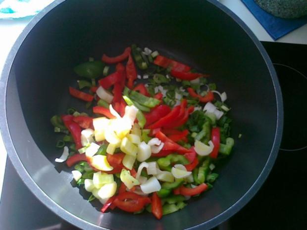 Gemüse-Nudel – Fleisch Pfanne aus dem Ofen - Rezept - Bild Nr. 12