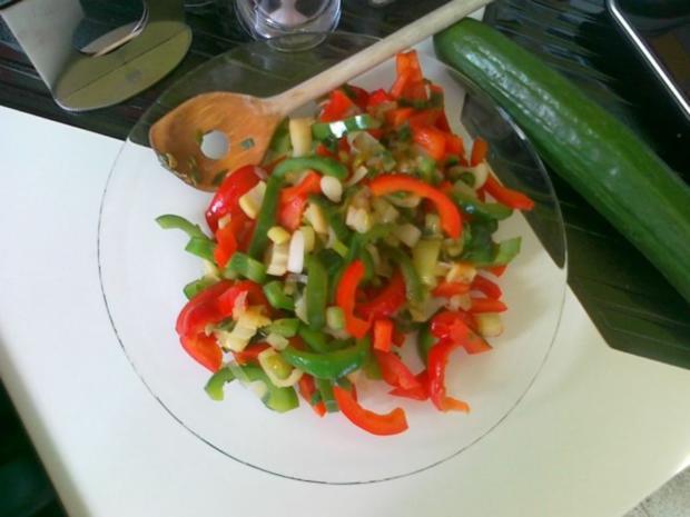Gemüse-Nudel – Fleisch Pfanne aus dem Ofen - Rezept - Bild Nr. 18