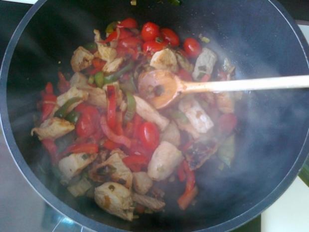 Gemüse-Nudel – Fleisch Pfanne aus dem Ofen - Rezept - Bild Nr. 23