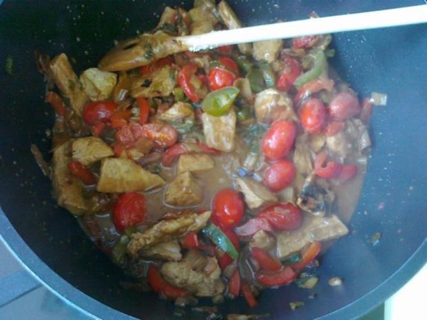 Gemüse-Nudel – Fleisch Pfanne aus dem Ofen - Rezept - Bild Nr. 25