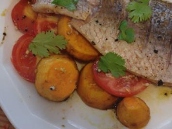 Fischfilets aus dem Ofen - Rezept