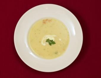 Kartoffel-Lauch-Suppe mit frischen Nordseekrabben (Robert Treutel) - Rezept