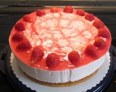 Erdbeer-Philadelphia-Kuchen - Rezept