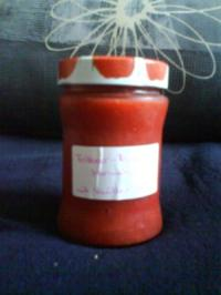 Erdbeer-Rhabarbermarmelade mit Vanillenote - Rezept