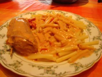 Putenröllchen Toscana - Rezept