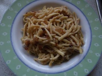 Käse-Spätzle - Rezept