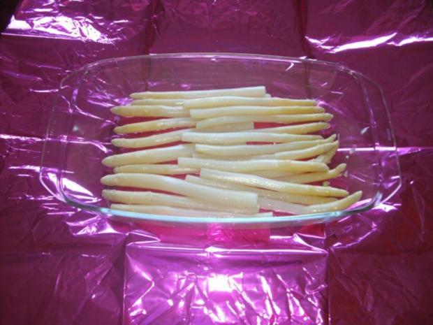 Beilage / Gemüse / vegetarisch: Spargel unter der Haube - Rezept - Bild Nr. 2