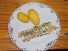 Beilage / Gemüse / vegetarisch: Spargel unter der Haube - Rezept
