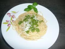 Pasta mit Pesto nach Art  Sabine - Rezept