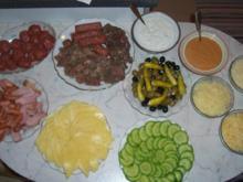 Raclette bei Enikö zu Hause - Rezept