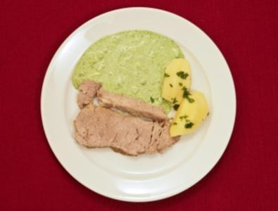 Tafelspitz vom Milchkalb mit Frankfurter Soße und Kartoffeln (Robert Treutel) - Rezept