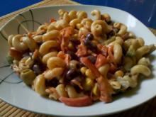 Salat: Verschärfter Nudelsalat! - Rezept