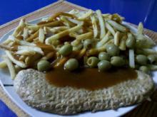 Fleisch: Schnelles Asiaschnitzel mit Pommes - Rezept