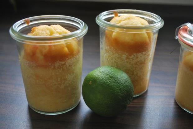Limoncello-Kuchen aus dem Glas - Rezept