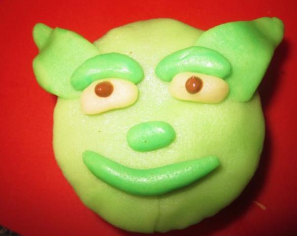 Yoda - Muffins =D - Rezept