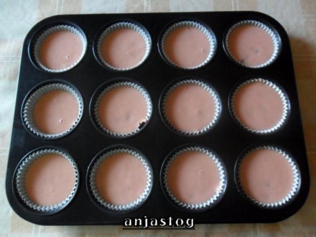 Erdbeeren  Muffins - Rezept - Bild Nr. 2